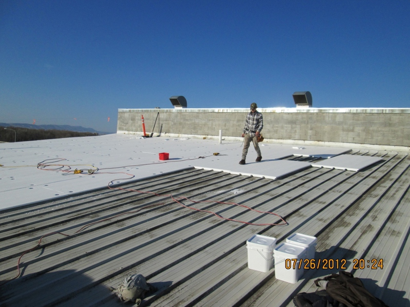 Tpo Roofing Installation : Mg wagner co inc roofing project details